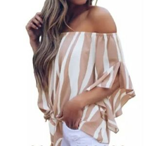 Brand New Off the shoulder blouse
